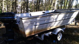 1963 18' Starcraft with 1975 Mercury 40 HP Outboard and Trailer