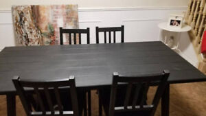 kitchen table brand new and never used!!!! $120 obo