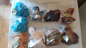Star Wars Buddies (Plush collectibles from 90's) (New w/ tags)