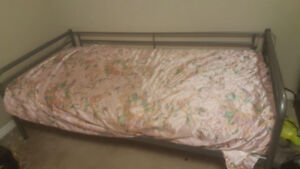 GREAT Condition IKEA Bed + Mattress + Memory Foam
