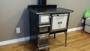 Antique Clare Jewel Wood Cook Stove