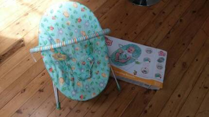 Bright Sparks vibrating Baby Bouncer