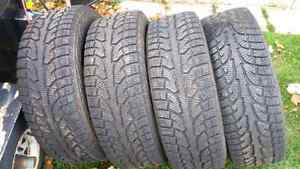 4 Winter Tires for Sale (19 inch)  $500 obo