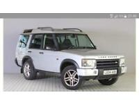 2004 LAND ROVER DISCOVERY 2.5 TD5 LANDMARK 5 DOORS 7 SEATER SILVER
