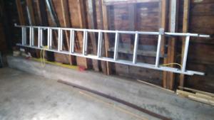Echelle aluminium 24 pieds