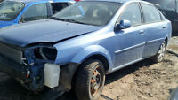 PARTING OUT 2004 CHEVY OPTRA