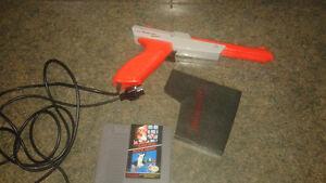 NINTENDO Super Mario bros/ Duck hunt with zapper!