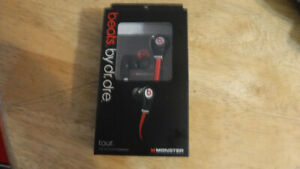 Beats Tour Headphones by DR. Dre brand new unopened