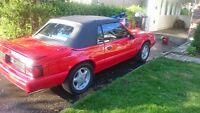 Ford mustang lx 1992 convertible
