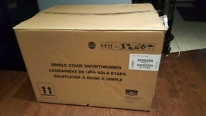 Brute 22 inch 9.5 TP Gas Single Stage Snowblower-BRANDNEW IN BOX
