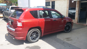 Jeep Compass 2009(rally)