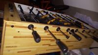Foosball table by Cooper A Vendre. For Sale.