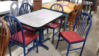 Tables & Chairs - Used