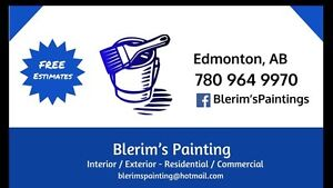Painting service offered lower rates