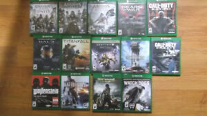 Collection of Xbox1 games