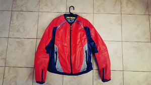 ICON ANTHEM MESH Motorcyle Jacket Red 95$ Size  Large