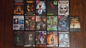 DVD 16 Horror movies