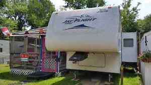 Campsite and/or camper for sale call 306-541-4703