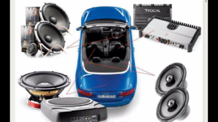 CAR AUDIO REVERSE CAMERA INSTALL SOUND SYSTEM DVD CD PLAYER