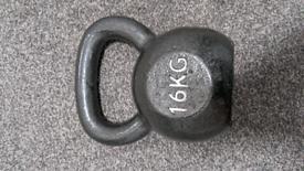 16kg Kettlebell cast iron like new