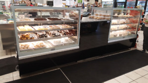 Great design pastry, bakery, gelato display cases