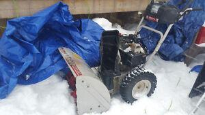Snowblower White Powder 8.5HP 26' with adjustable 5 speeds