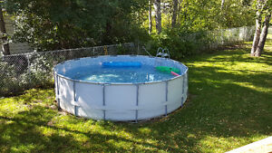 18x18 pool..1 month old