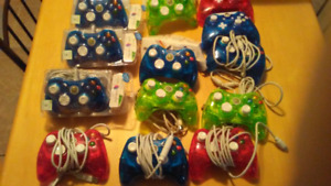 13 xbox 360 rock candy controllers