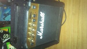 marshall guitar amplifier amp 10 watt
