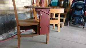 Antique childrens school desk Kitchener / Waterloo Kitchener Area image 2