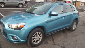 Mitsubishi rvr se 2012 with safety and carproof.