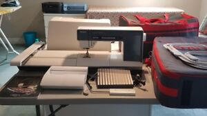 Embroidery sewing machine
