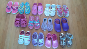Girl shoes size 10,11,12 and 13