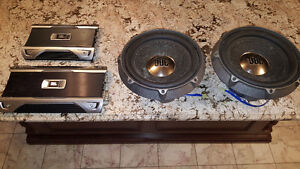 "JBL 12"" SUBWOOFERS AND 2 JBL AMPLIFIERS - 4168936739"