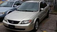 2003 Mazda Protege Sedan   emission tested