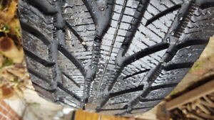 4 Winter Tires 245/65R17 with rims ... used one winter... $600