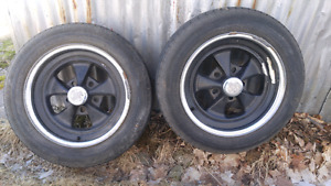 Pair of Crager SS Rims