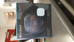 ecobee 4 Thermostat Intelligent (Brand New Never Opened)
