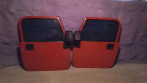 Reduced jeep doors priced to sell fast