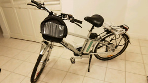 Ebike assist 26 inch wheel with lithium 36v battery