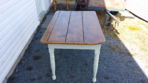 Rustic antique harvest table
