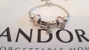 Authentic Pandora Charms and Bracelet