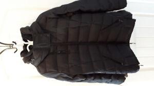 Manteau de maternité noir thymes