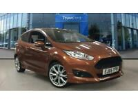 2015 Ford Fiesta 1.0 EcoBoost 140ps Zetec S 3dr FULL LEATHER INTERIOR + LOW MILE