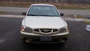 2002 Hyundai Accent GS - only 92k kms