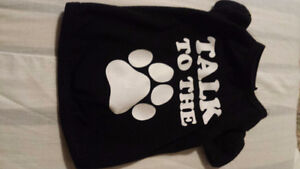 2 Puppy Shirts - Size Small - Killer shirt & Talk to the Paw sh