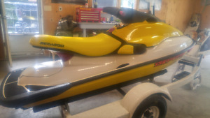1996 Sea Doo HX 720 + Trailer