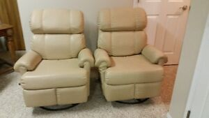 Two Swivel Recliners. Mint Condition!!!!