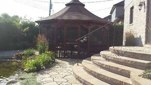 LARGE GAZEBO - APPROX. 15 FT - EXCELLENT CONDITION