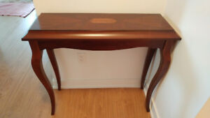 CONSOLE WOOD TABLE